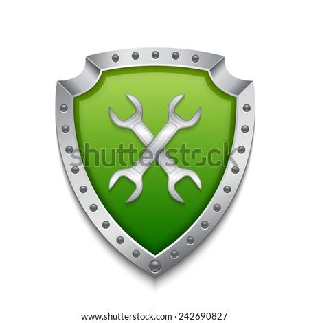 Administrator icon. EPS10 vector - stock vector