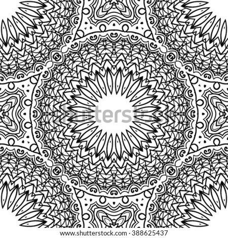 Zendoodle stock vectors vector clip art shutterstock for Zendoodle coloring pages