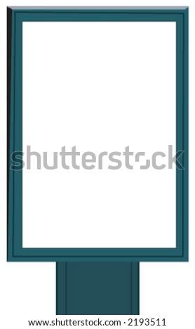 advertising - stock vector
