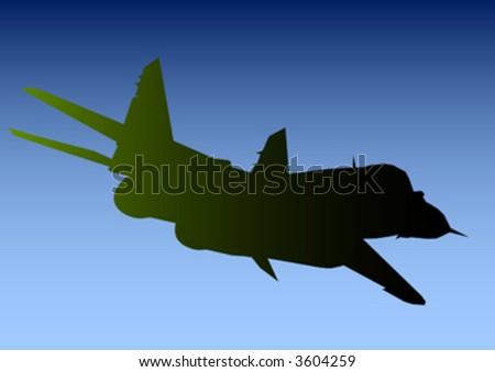 aeroplane - stock vector