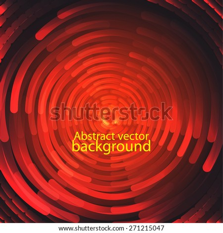 aggressive red vector design. Background for your text - stock vector
