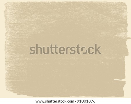 aging paper texture, vector illustration - stock vector