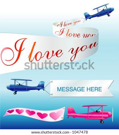 Air message - vector! - stock vector