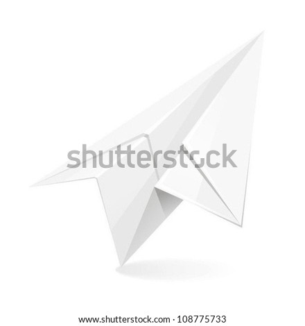airplain icon - stock vector