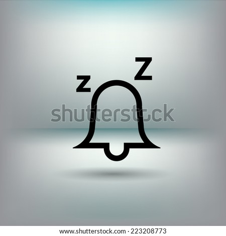 Alarm Bell Icon - stock vector