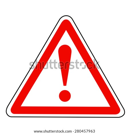 Alert Sign  - stock vector