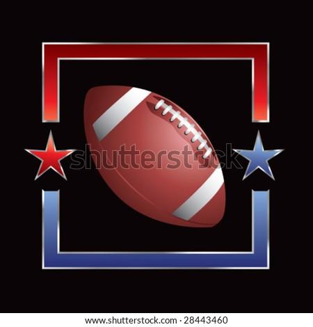 all-star football - stock vector