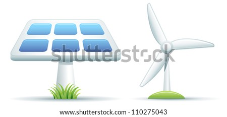 Alternative Energy - stock vector