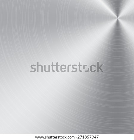aluminum or metal texture and background vector - stock vector