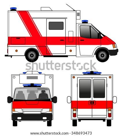 Ambulance - stock vector