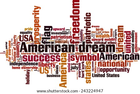 the evolution of the concept of the american dream By the time james truslow adams wrote his history of the united states in 1931 -- a book he had to be talked out of calling the american dream -- he and many others.