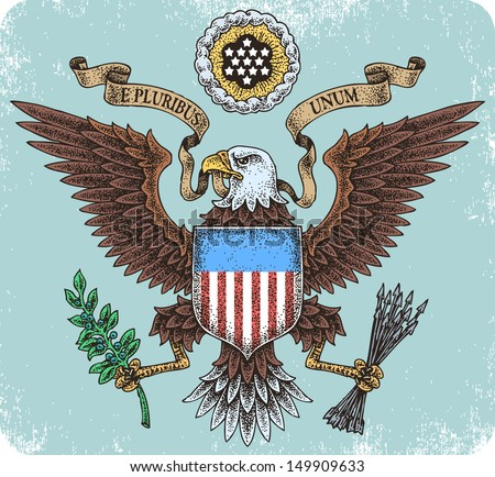American eagle. - stock vector