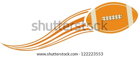 american football design element - stock vector