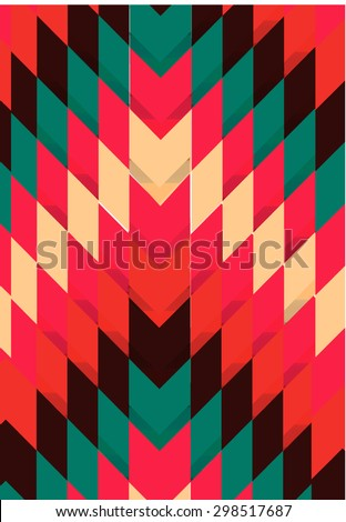 American Indian Aztec ethnic    background . Vector illustration can be used for wallpaper, pattern fills, web page background, surface textures - stock vector