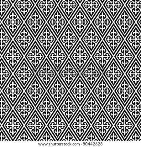 An arabic style vector pattern - stock vector