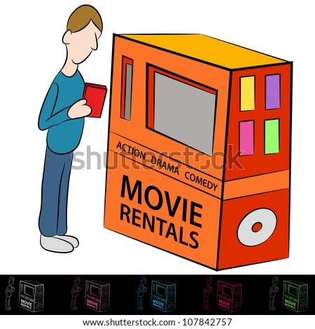 Dvd Rental Stock Illustrations & Cartoons | Shutterstock