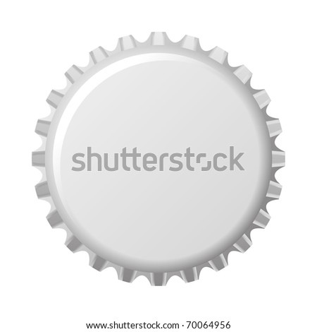 An image of a nice bottle cap - stock vector
