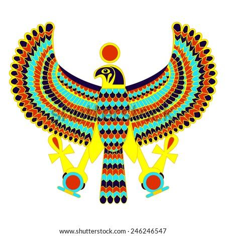 egyptian eagle god