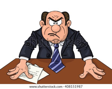 angry manager clipart - photo #10
