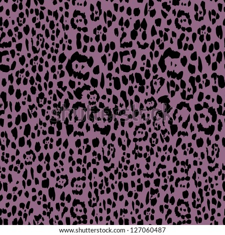 animal spots seamless background - stock vector