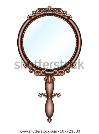 Hand mirrors Stock Photos, Images, & Pictures | Shutterstock Vintage Hand Mirror Clip Art