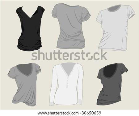 apparel - stock vector