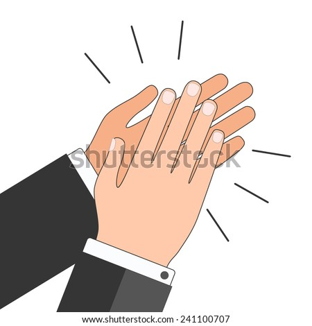 Applause icon - stock vector