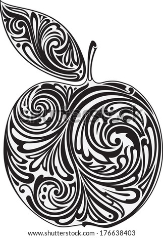 Apple - stock vector