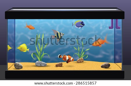 Aquarium - stock vector