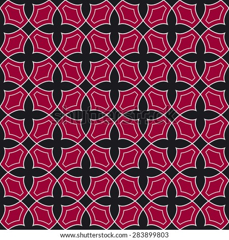 Arabic decor, Arabic pattern, background - stock vector