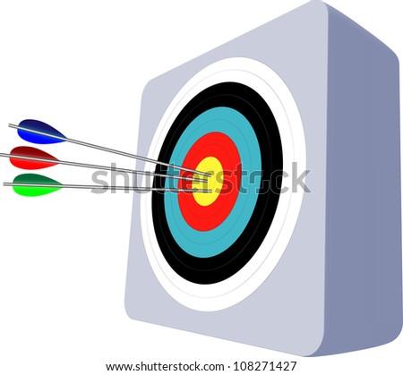 Archery - stock vector