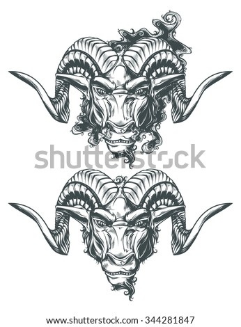 Aries - stock vector