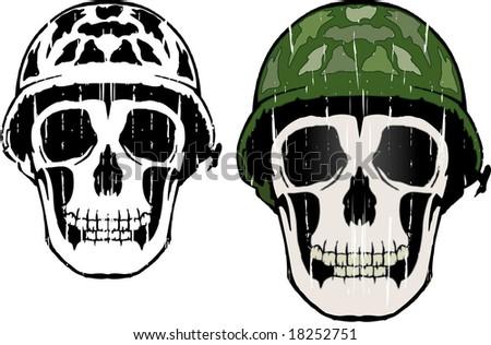 Army man - stock vector