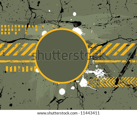 Army / navy / grunge background - for different text use my another illustration called Grunge Alphabet - stock vector