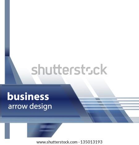 arrow design - stock vector