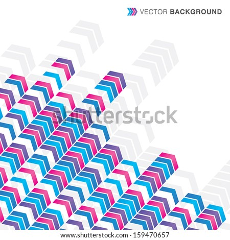 Arrows Backgrounds - stock vector