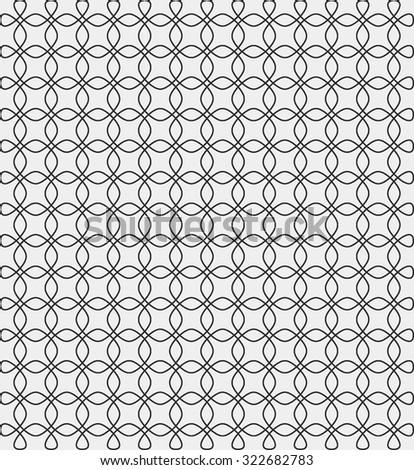 Art Deco Pattern linear Texture Background Wallpaper - stock vector
