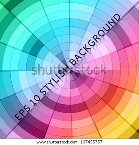 artistic colorful background - stock vector