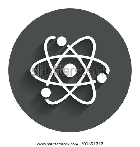 atom in circle logo images