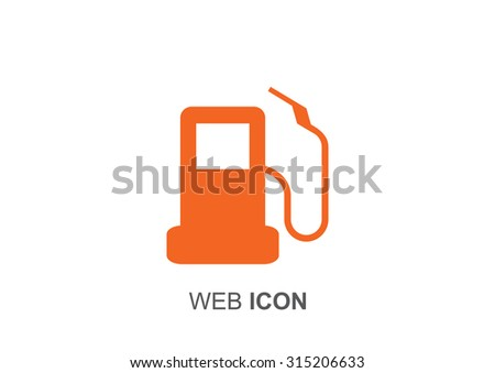 autorefuelling, web icon. vector design - stock vector