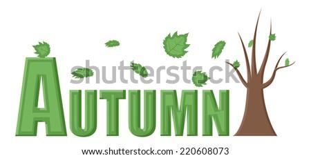 Autumn Vector Illustration - stock vector