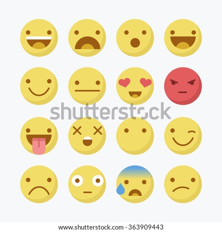 Avatar, Emoji. - stock vector