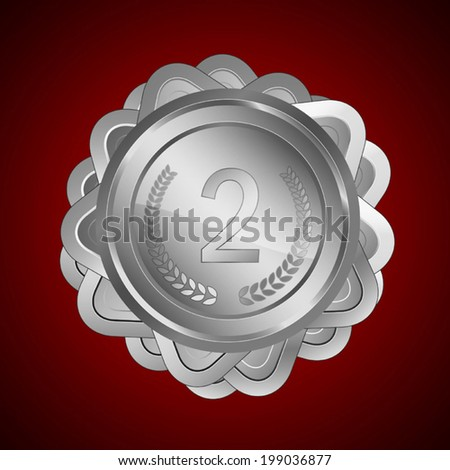 Award shield / medal.  Useful elements for your layout design. Premium Quality, Genuine and Satisfaction, Easy to Edit - stock vector