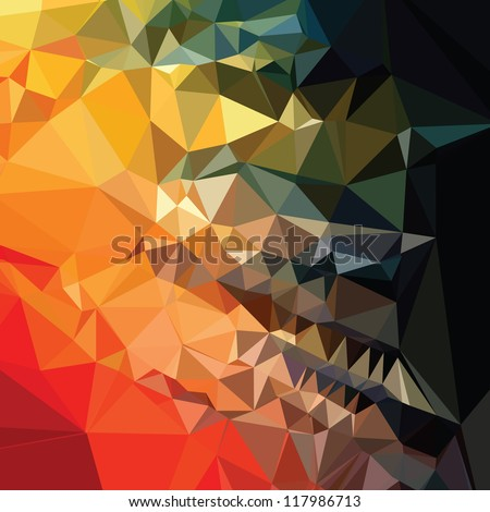 Awesome Abstract background - stock vector