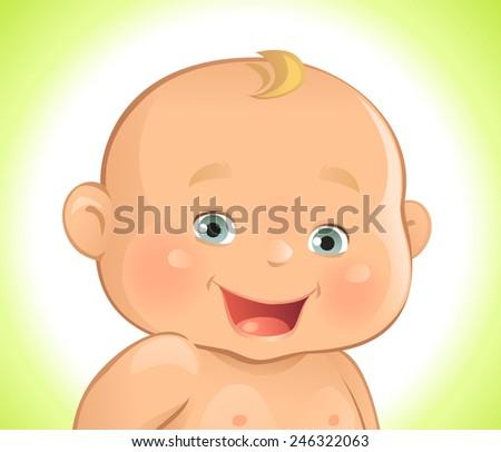 Baby - stock vector