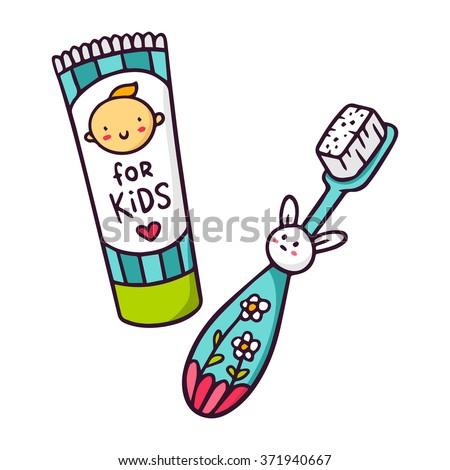 Toothbrush 스톡 벡터 및 벡터 클립 아트 | Shutterstock