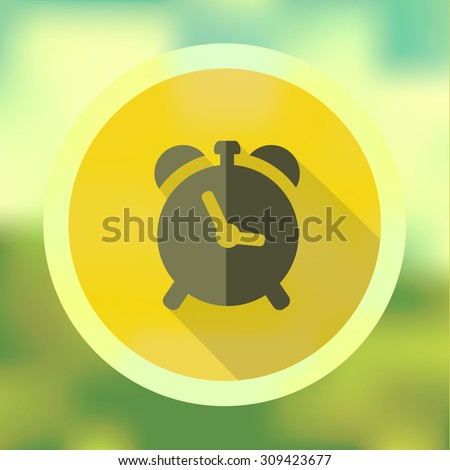 Back to school, flat blurred background with School Icon Element vector illustration Eps10 image - stock vector