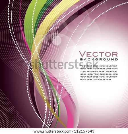Background. Abstract Vector Illustration. Eps10. - stock vector