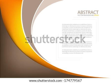 Background earth tone color texture pattern for text and message design for brochure and modern website design - stock vector