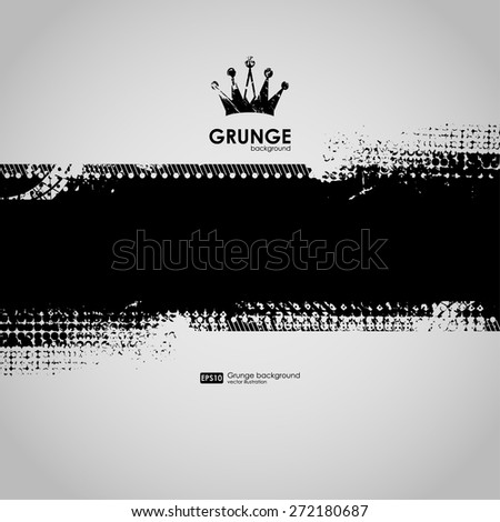 background for poster in grunge minimalism style. Grunge print for t-shirt. Abstract background. Texture background. Abstract shape  - stock vector